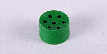 Tehnični izdelki iz Gume, Poliuretana ali kombinacije. Tesnila. Zelen.