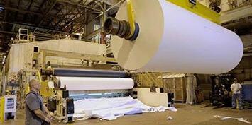 Valji in tesnila za papirno industrijo