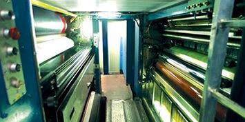 Valji in tesnila za tiskarsko industrijo